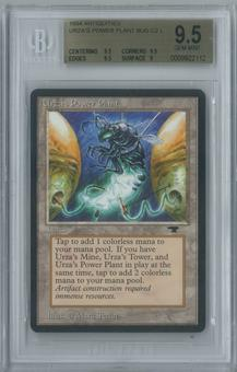 Magic the Gathering Antiquities Single Urza's Power Plant (Bug) BGS 9.5 GEM MINT (9.5, 9.5, 9.5, 9)