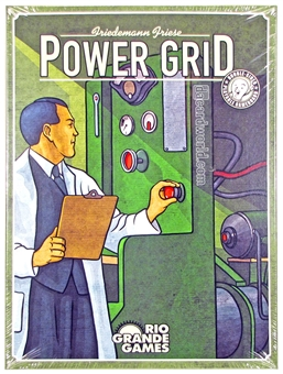 Power Grid Board Game (Rio Grande)