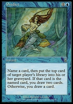 Magic the Gathering Odyssey Single Predict FOIL - NEAR MINT (NM)