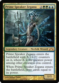Magic the Gathering Gatecrash Single Prime Speaker Zegana - SLIGHT PLAY (SP)