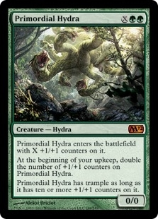 Magic the Gathering 2012 Single Primordial Hydra FOIL