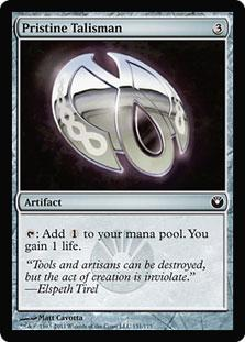 Magic the Gathering Promo Single Pristine Talisman - NEAR MINT (NM)