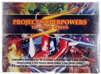 Project Superpowers Trading Cards Hobby Box (Breygent 2011)