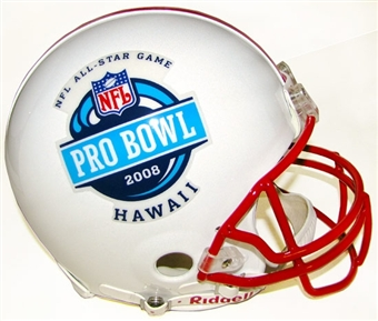 2008 NFL Pro Bowl Authentic Full Size Football Helmet (Peterson MVP)