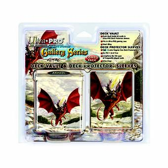 Ultra Pro Elmore Through the Pass Deck Vault & Deck Protectors Combo 50ct.