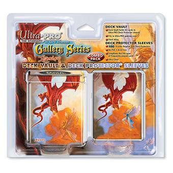 Ultra Pro Dragon Tin Deck Vault & 100 Deck Protectors - Regular Price $9.95 !!!