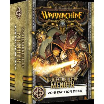Warmachine: Protectorate of Menoth Faction Deck Box (MKIII) (Presell)