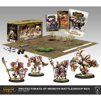 Warmachine: Protectorate of Menoth Battlegroup Starter Box (MKIII) (Presell)