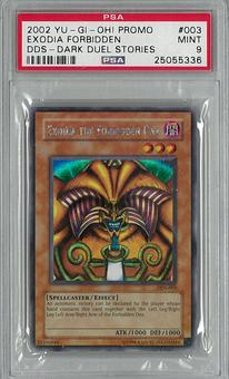 Yu-Gi-Oh DDS (Dark Duel Stories) Exodia the Forbidden One Secret Rare PSA 9 - **25055336**