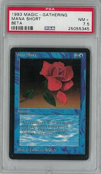 Magic the Gathering Beta Mana Short PSA 7.5 - **25055345**