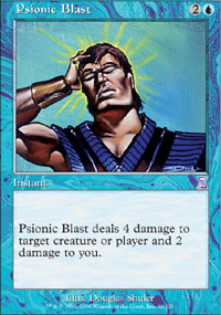 Magic the Gathering Time Spiral Single Psionic Blast - NEAR MINT (NM)