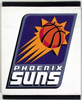 Phoenix Suns 2004 NBA Draft Board Team Logo Panels
