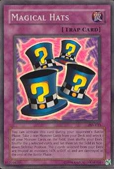 Yu-Gi-Oh Pharaoh's Servant Single Magical Hats Super Rare (PSV-033)