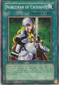 Yu-Gi-Oh Pharaoh's Servant 1st Ed. Nobleman Of Crossout Super Rare (PSV-034)