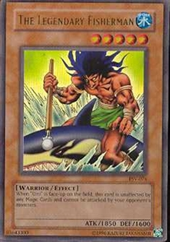 Yu-Gi-Oh Pharaoh's Servant Single The Legendary Fisherman Ultra Rare