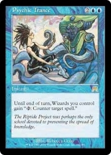 Magic the Gathering Onslaught Single Psychic Trance UNPLAYED (NM/MT)