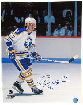 Pierre Turgeon Autographed Buffalo Sabres 16x20 Hockey Photo