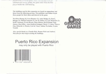 Puerto Rico Board Game (Rio Grande Games)