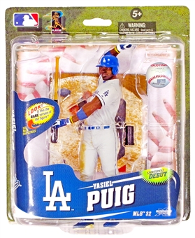 Los Angeles Dodgers Yasiel Puig MLB McFarlane Series 32 Gray Variant Figure /750