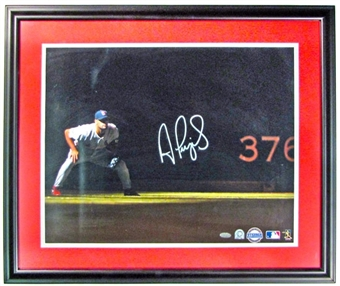 Albert Pujols Autographed & Framed 16x20 Photo (Steiner COA)