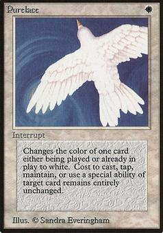 Magic the Gathering Beta Single Purelace - SLIGHT PLAY (SP)