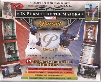 2010 TriStar Pursuit Series 1 Baseball Hobby Box