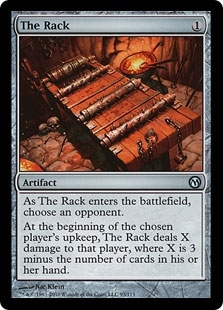 Magic the Gathering Duel Planeswalkers Single The Rack - NEAR MINT (NM)