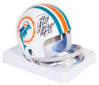 Paul Warfield Autographed Miami Dolphins Throwback Mini Helmet