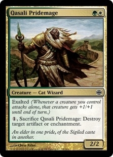 Magic the Gathering Alara Reborn Single Qasali Pridemage FOIL