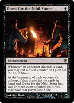 Magic the Gathering Worldwake Single Quest for the Nihil Stone Foil