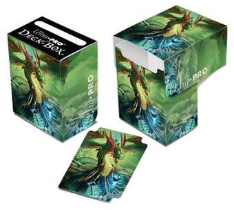 Ultra Pro Mauricio Herrera Quetzalcoatl Full View Deck Box - Regular Price $2.99 !!!