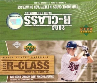 2004 Upper Deck R-Class Baseball Hobby Box