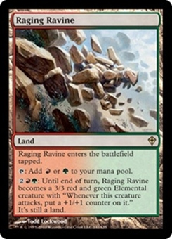 Magic the Gathering Worldwake Single Raging Ravine - NEAR MINT (NM)