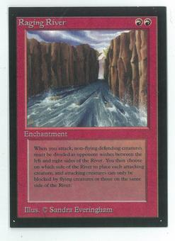 Magic the Gathering Beta Artist Proof Raging River - SIGNED & NUMBERED BY SANDRA EVERINGHAM