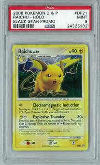 Pokemon Black Star Promo Raichu DP21 Holo Rare PSA 9