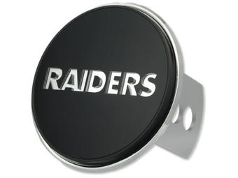 "Oakland Raiders Rico Industries 4 "" Laser Trailer Hitch Cover"
