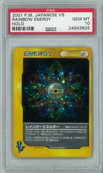 Pokemon Japanese VS Rainbow Energy Holo Rare PSA 10 - **24543625**