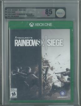 Microsoft Xbox One Tom Clancy's Rainbow Six Siege VGA Graded 85 NM+