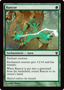Magic the Gathering Archenemy Single Rancor UNPLAYED (NM/MT)