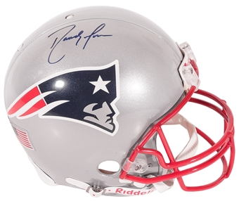 Randy Moss Autographed New England Patriots Authentic FS Proline Helmet (Moss Hologram)