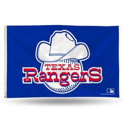 Texas Rangers Rico Industries 3' x 5' Retro Banner Flag