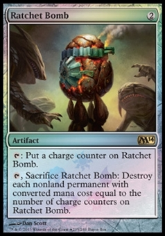 Magic the Gathering Promo Single Ratchet Bomb Buy-A-Box Foil - NEAR MINT (NM)