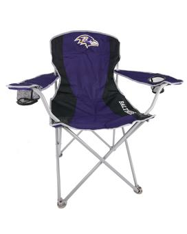 Baltimore Ravens Coleman Team Logo Oversize Quad Folding Chair