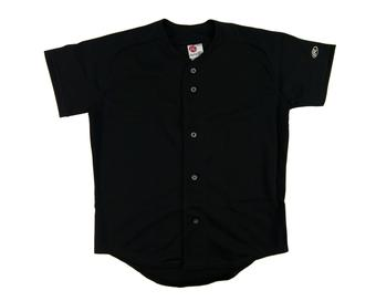 Rawlings Baseball Jersey - Black (Youth L)