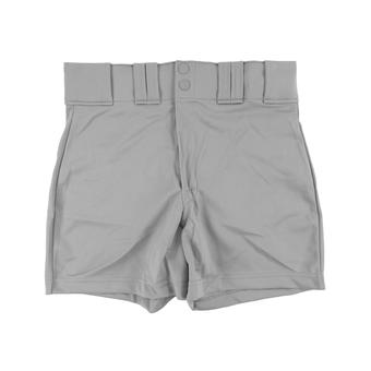 Rawlings Baseball Shorts - Gray (Adult XXL)