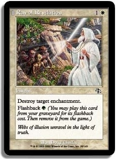 Magic the Gathering Judgment Single Ray of Revelation Foil