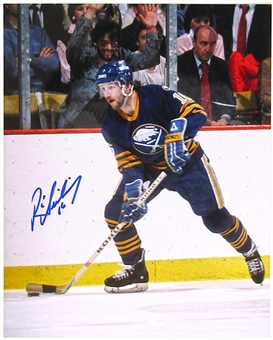 Ric Seiling Autographed Buffalo Sabres 8x10 Hockey Photo