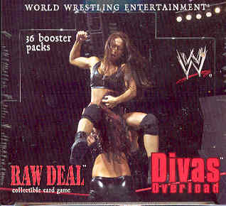 Comic Images WWE Raw Deal Divas Overload Wrestling Booster Box