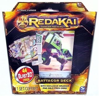 Redakai Structure Deck - Battacor