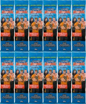 2016 Topps WWE Road to Wrestlemania Wrestling Jumbo Pack (Lot of 12)